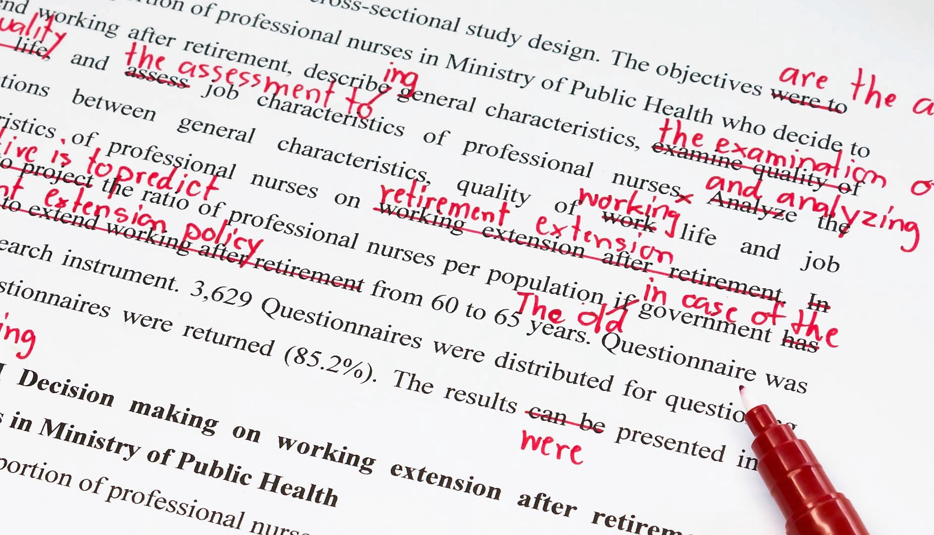 The Best Ways of Proofreading Your Work